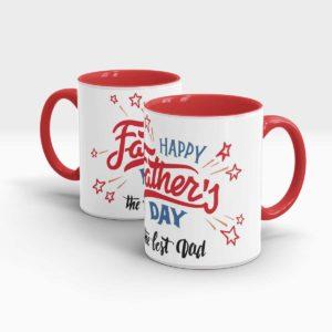 Fathers Day Gift Mug-Red