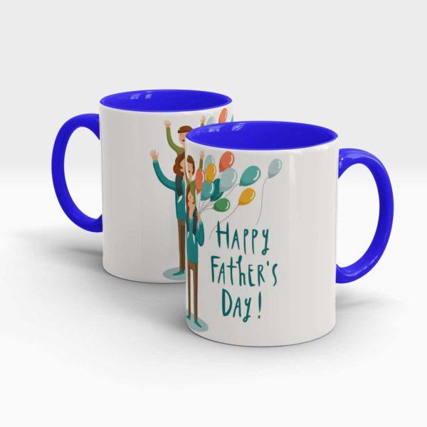 Fathers Day Gift Mug-Blue
