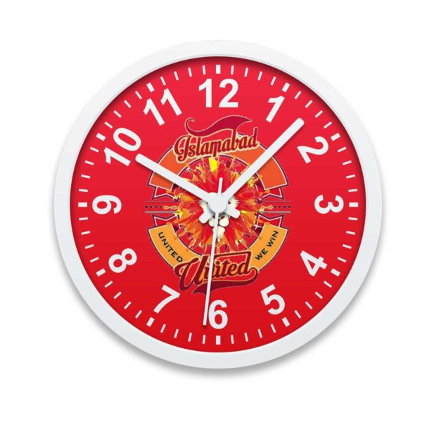 PSL 3 Islamabad United Wall Clock