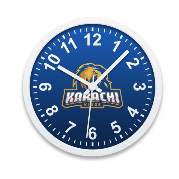 PSL 3 Karachi Kings Wall Clock