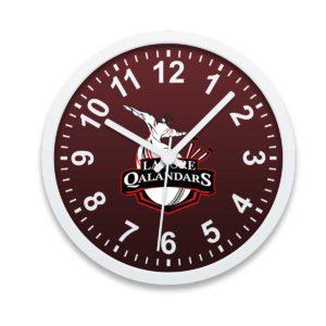 PSL 3 Lahore Qalandars Wall Clock