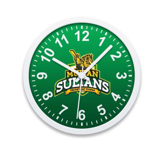 PSL 3 Multan Sultans Wall Clock