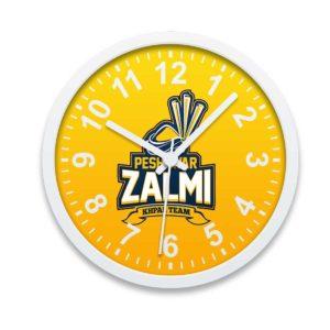 PSL 3 Peshawar Zalmi Wall clock