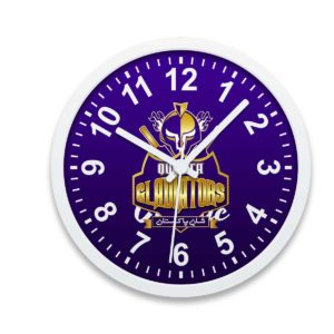 PSL 3 Quetta Gladiators Wall Clock