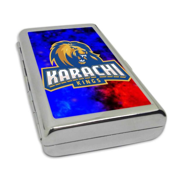 PSL 3 Karachi Kings Card/Cigarette Case