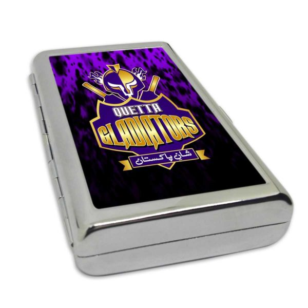 PSL 3 Quetta Gladiators Card/Cigarette Case