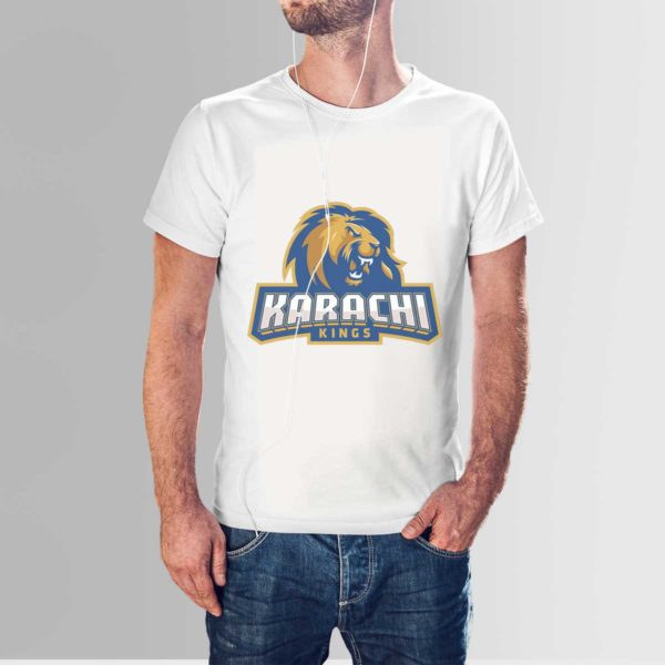 PSL 3 Karachi Kings T Shirt