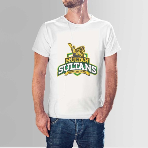 PSL 3 Multan Sultans T Shirt White