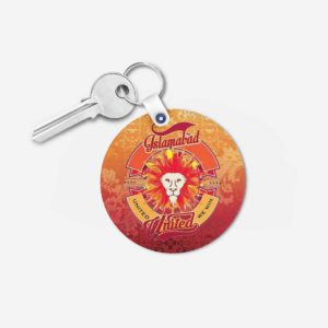 PSL 3 Islamabad United Key Chain Round
