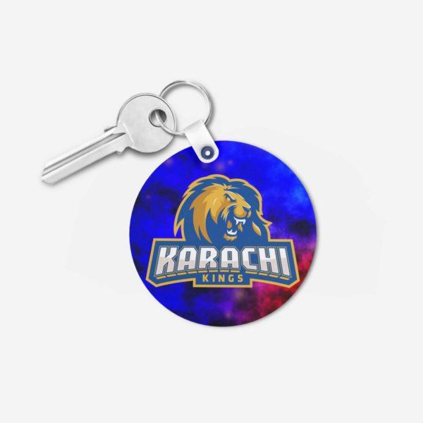 Karachi Kings Key Chain Round