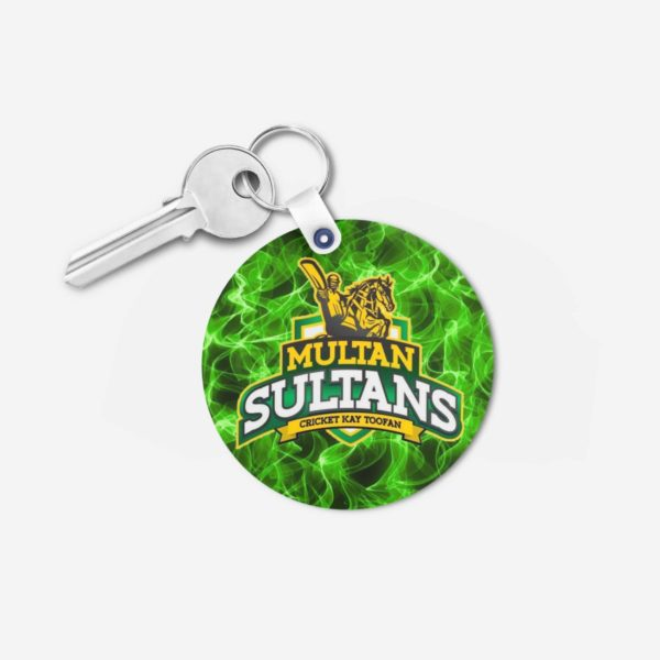 PSL 3 Multan Sultan Key Chain Round
