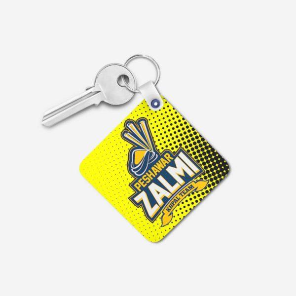 PSL 3 Peshawar Zalmi Key Chain