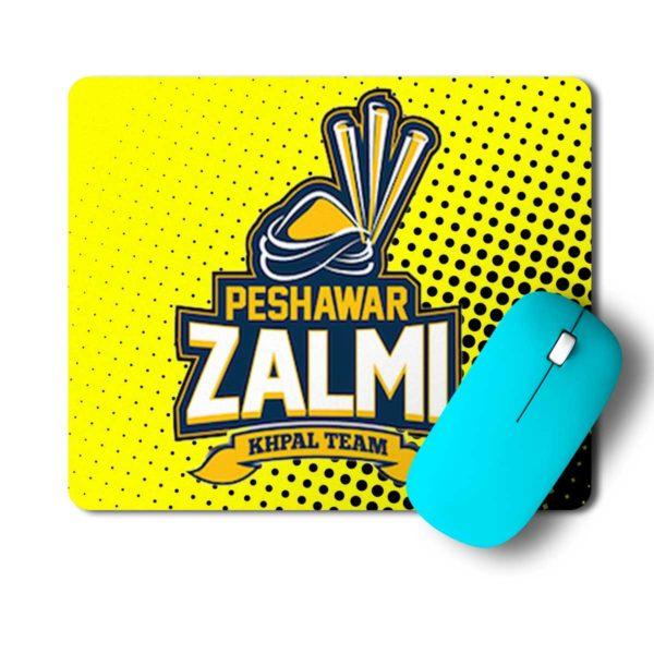 PSL 3 Peshawar Zalmi Mouse Pad