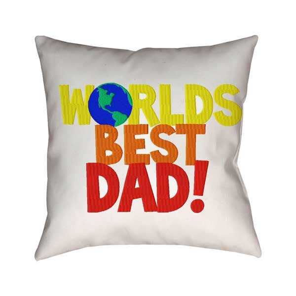 The Best Dad Ever Cushion