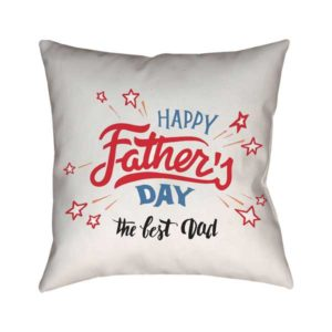 The Best Dad - Father's Day Gift Cushion