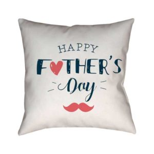 Happy Father's Day Gift Cushion