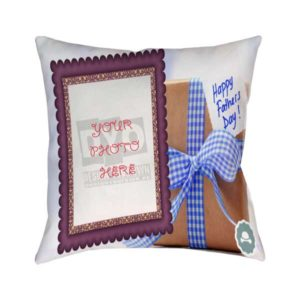 Design Your Own Happy Father's Day Custom Gift Cushion