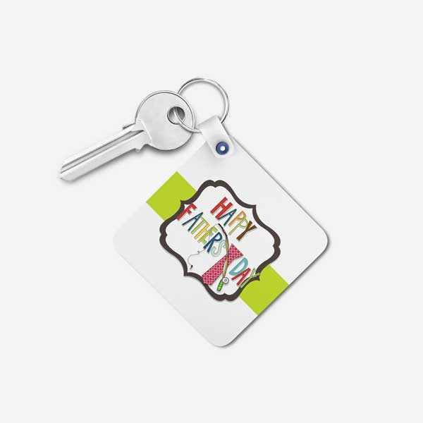 Happy Father's Day Gift Keychain