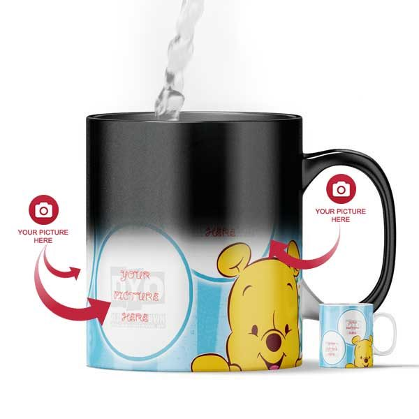 Design Your Own Winnie Pooh Magic Color Changing Mug For Kids