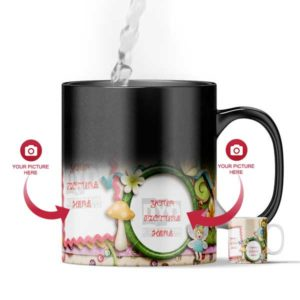 Design Your Own Fairy Tale Customized Magic Color Changing Mug For Kids