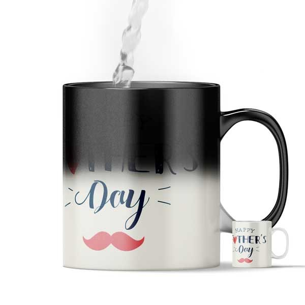 Father's Day Gift Magic Color Changing Mug