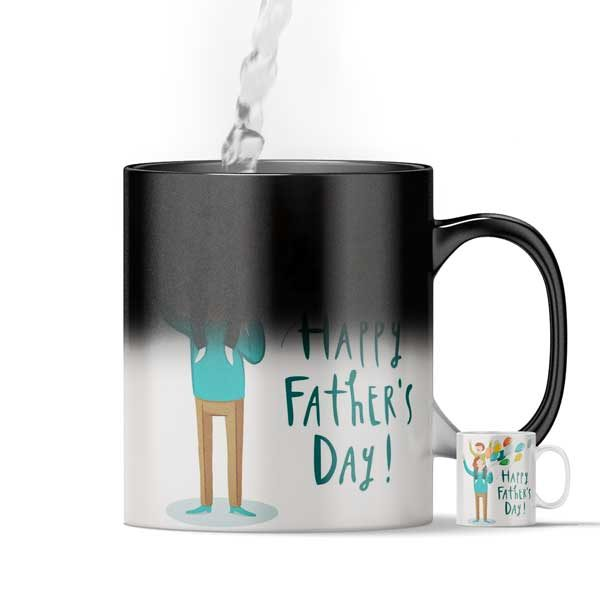 happy Father's Day Magic Color Changing Mug