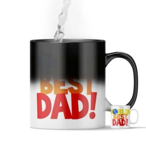 World's Best Dad Magic Custom Printed Gift Mug