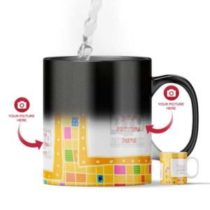 Design Your Own Golf Series Magic Color Changing Mug