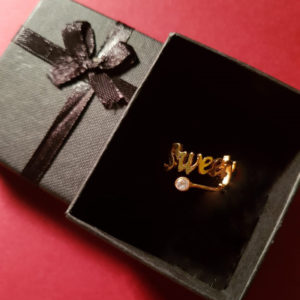 Design Your Own Personalized Gold/Silver Rings
