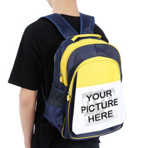 Design Your Own Personalized School Bag with Picture