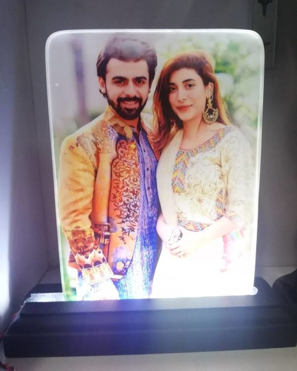 DYO Design Your Own LED Photo Frame