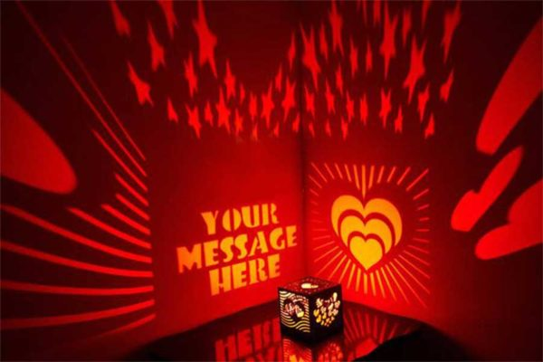 Design Your Own Magic Projection Gift Box