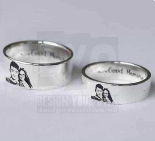 Personalized Photo Ring