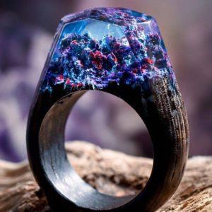 Fantasy Wooden Ring