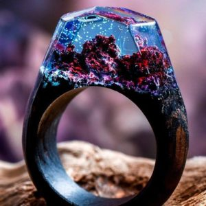 Fantasy Wooden Ring