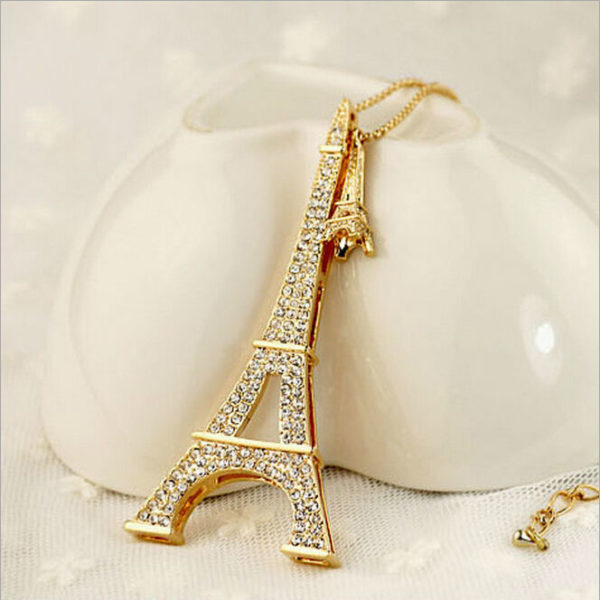HQ Eiffel Tower Necklace
