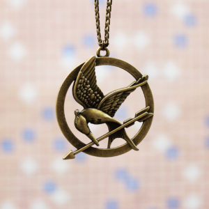 Mockingjay Pin Necklace (Hunger Games)