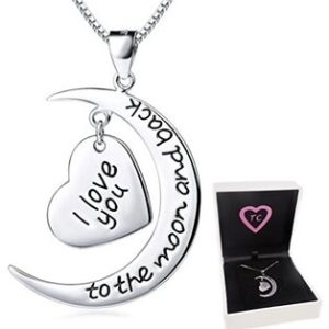 Love Moon Necklace