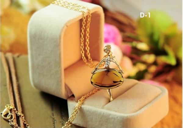 Dancing Lady Necklace