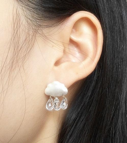 Cloud Earring
