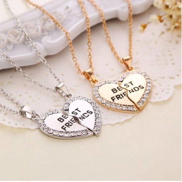 Diamonds Best Friend Necklace Set