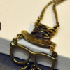 Hat Retro Necklace
