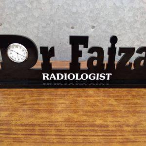 Customized Name Clocks