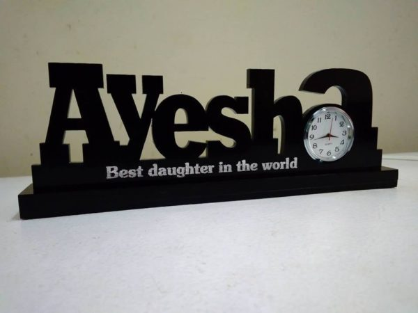 Customized Name Clocks