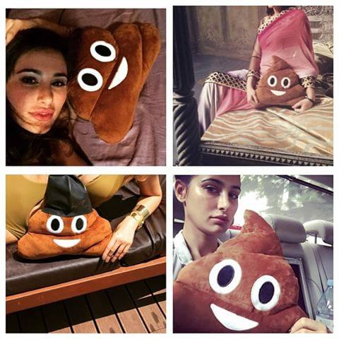 Famous POO Pillow