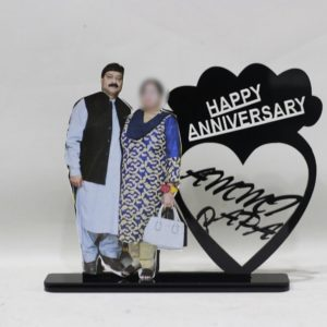 Customized Picture And Name Table Frame