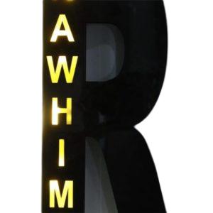 Alphabet Name Wall Hanging Light