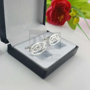 Personalized Name Cufflinks For Men in Pakistan