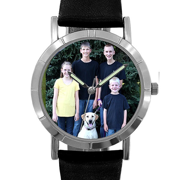 Customized Picture And Name Hande Watches