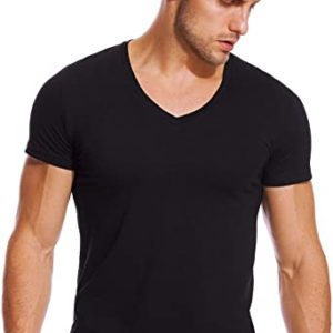 V Neck Customized T-Shirt For Mens And Womens